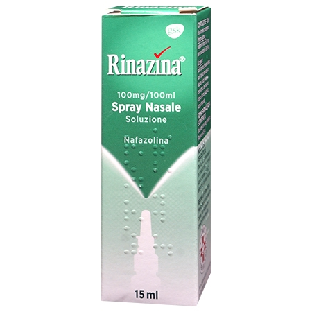 Rinazina spray nasale decongestionante 0,1% 15 ml
