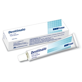 Dentinale pasta gengivale 25 g