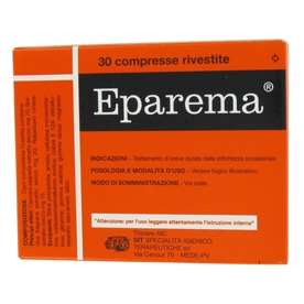 Eparema 30 compresse rivestite 70+20+10 mg