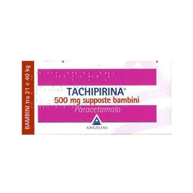 Tachipirina bambini 500 mg 10 supposte