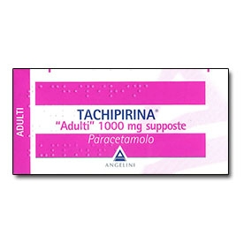 Tachipirina adulti 1000 mg 10 supposte