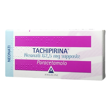 Tachipirina neo 10 supposte 62,5 mg