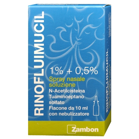 Rinofluimucil spray nasale 10 ml