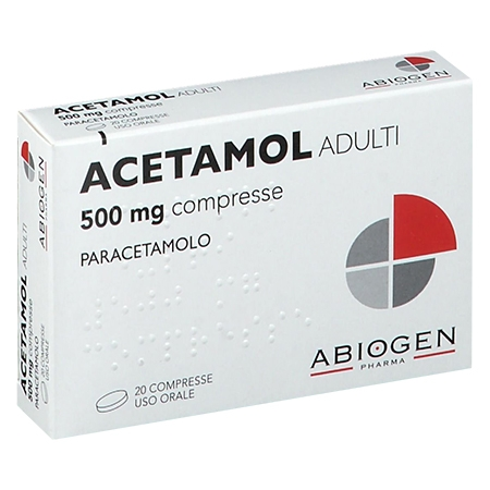 Acetamol 500 mg 20 compresse