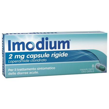 Imodium 2 mg 8 capsule