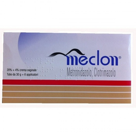 Meclon crema vaginale 20% + 4% 30g con 6 applicatori