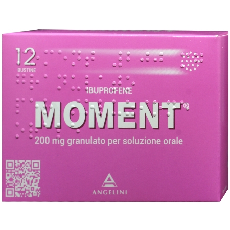 Moment granulare 200mg 12 buste