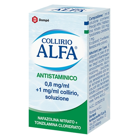 Collirio Alfa antistaminico multidose 10 ml