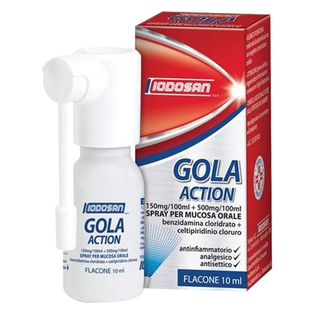 Iodosan Gola action spray 0,15%+0,5%