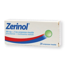 Zerinol 300+2mg 20 compresse