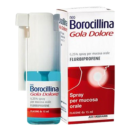 Neoborocillina Goladolore spray menta 15 ml