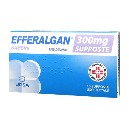 Efferalgan 10 supposte 300 mg