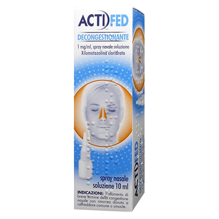 Actigrip spray nasale 10 ml