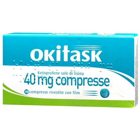 Okitask 40mg 10 compresse rivestite