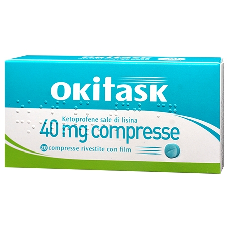 Okitask 40mg 20 compresse rivestite