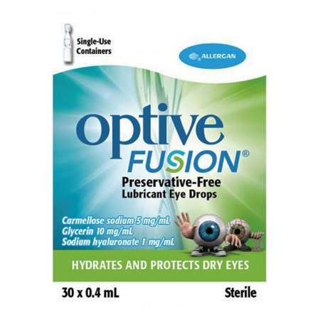 Optive fusion ud 30 flaconcini 0,4 ml