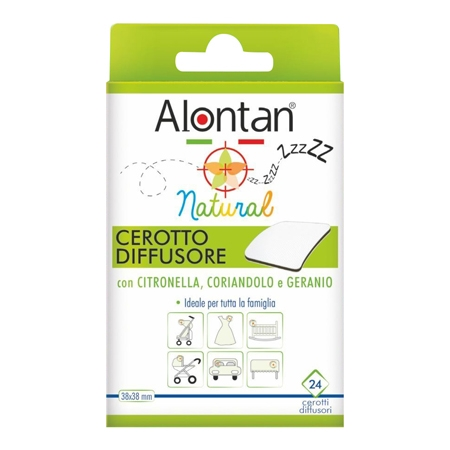Alontan Natural cerotto antizanzare 24 pezzi