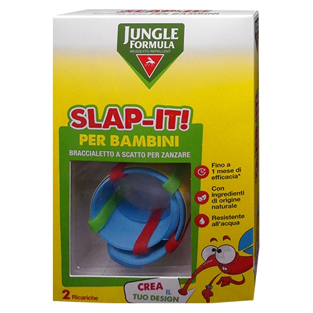 Jungle formula slap-it braccialetto antizanzare bambini