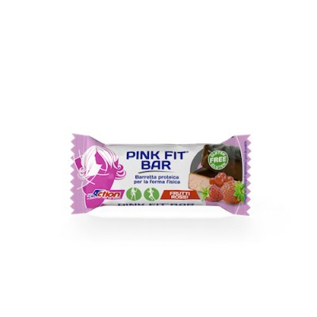 Pink Fit Bar gusto frutti rossi 30g