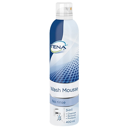 Tena wash mousse 400 ml