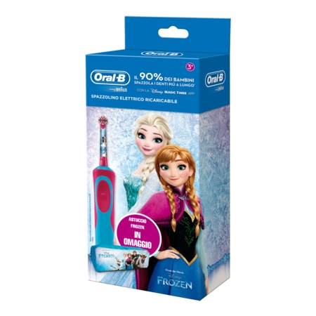Oral B power vitality kids frozen special pack