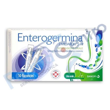 ENTEROGERMINA 2 MLD 10 FLAC