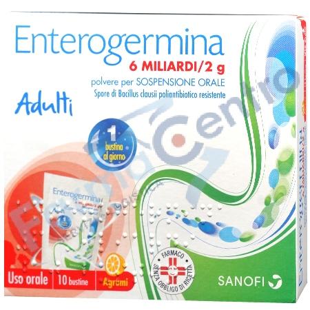 ENTEROGERMINA 6 MLD 10 BST