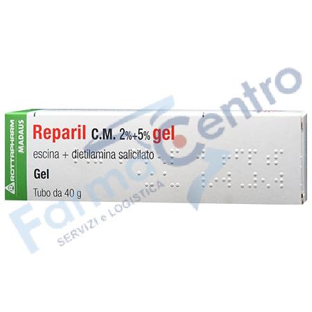 REPARIL C.M. GEL 40g 2%+5%