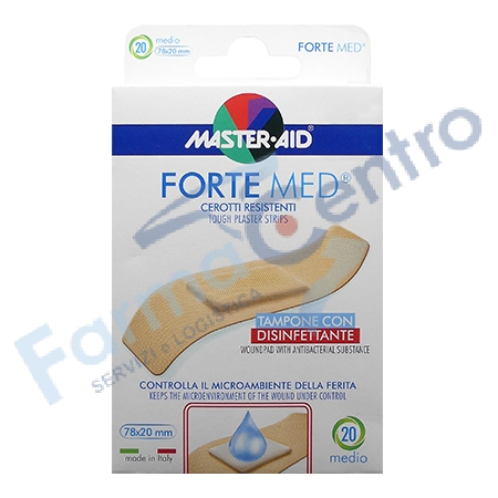 M-AID FORTE MED CER M 20PZ