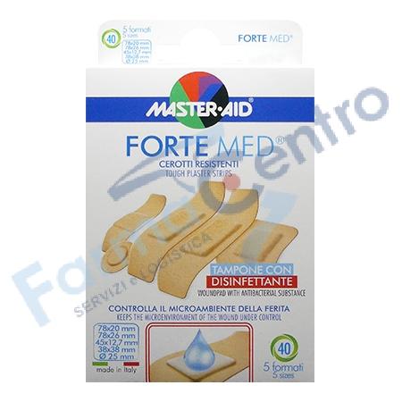 M-AID FORTE MED CER ASSORT 40P