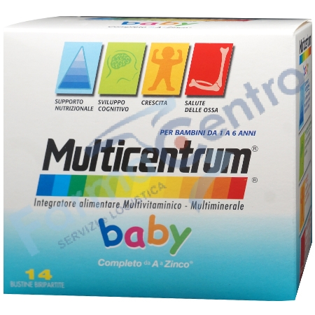 MULTICENTRUM BABY 14 BUSTE