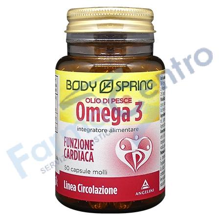 BODY SPRING OLIO OMEGA3 50CPS