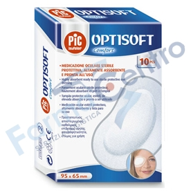 PIC TAMPONE OCULARE ADES 10PZ