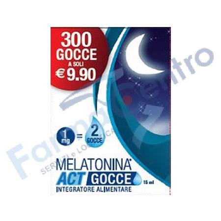 MELATONINA ACT GOCCE 15ML