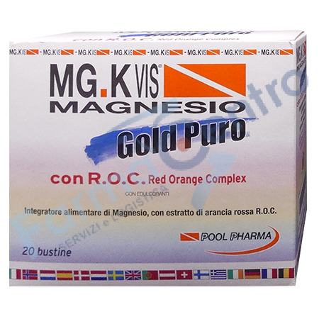mgk vis magnesio gold puro 20b