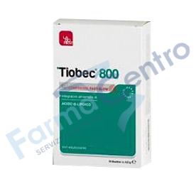 tiobec 800 20 compresse fast-slow 32g