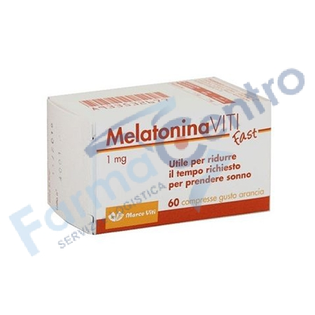 MELATONIN FAST 1MG 60 COMPRESSE