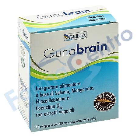 Gunabrain Integratore Alimentare Senza Glutine 30 Compresse