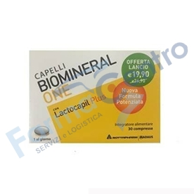 BIOMINERAL ONE LACTO PLUS30 COMPRESSE