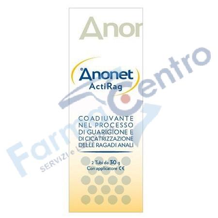 Anonet ActiRag è una crema topica che contrasta la sintomatologia della ragade anale.