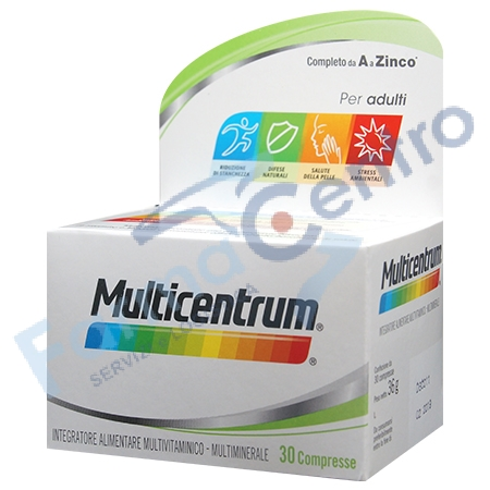 multicentrum adulti 30 compresse
