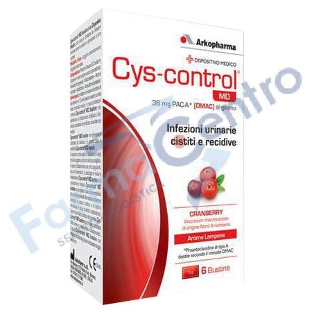 cys control md 6bustine 4g