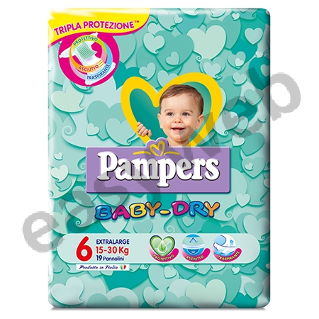 pampers baby dry xl pb 19